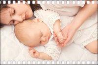 Укладываем новорожденного ребенка спать