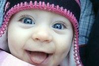 Первая улыбка младенца