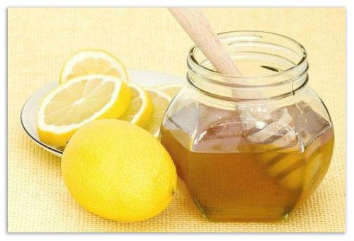Мед и лимоны.