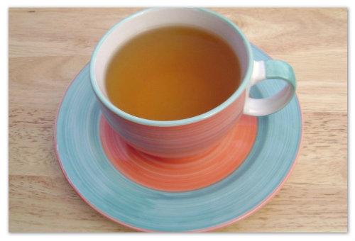 Кружечка с чаем.