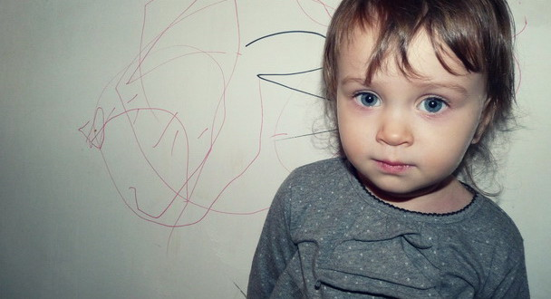 Рисовать на стене можно!