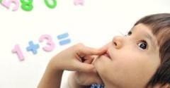 Как правильно научить ребенка счету.