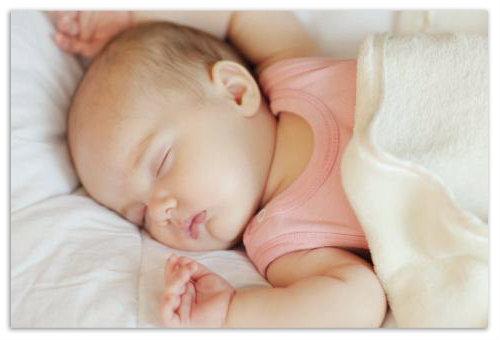 Подбородок новорожденного