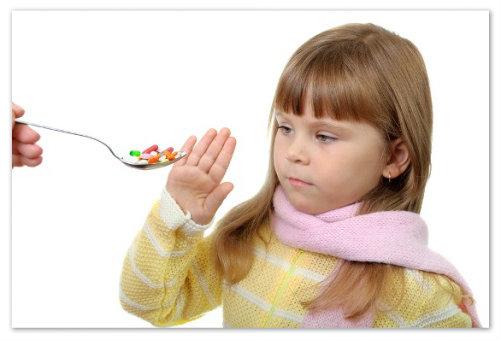Антибиотики для детей.