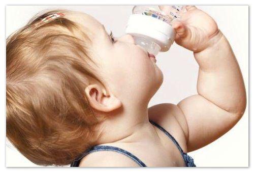 Водичка из бутылочки.