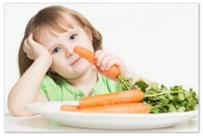 Врачи просят не делать детей вегетарианцами