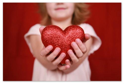 Девочка и сердце
