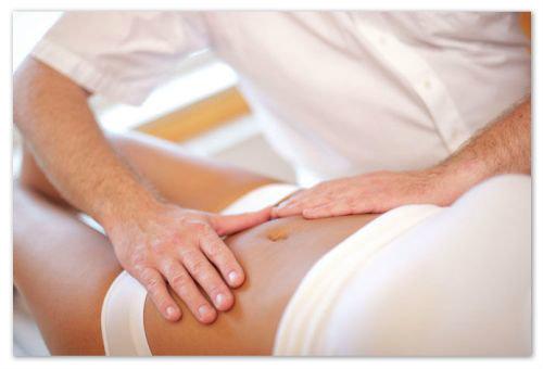 Послеродовой массаж