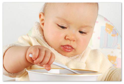 Меню ребёнка в 10 месяцев, основа рациона.