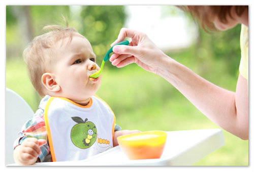 ВВедение банана в рацион ребёнка.