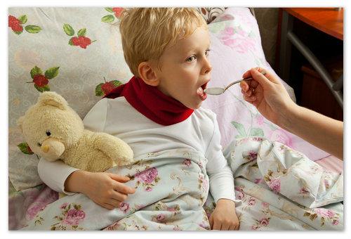 Кашель и температура у ребенка