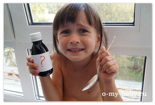 Эффективные сиропы от кашля для детей.