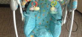 Электрокачели Baby Care Riva.