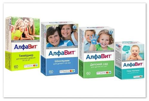 Витамины для детей.